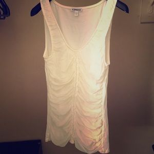 White/cream tank top with beautiful detailing